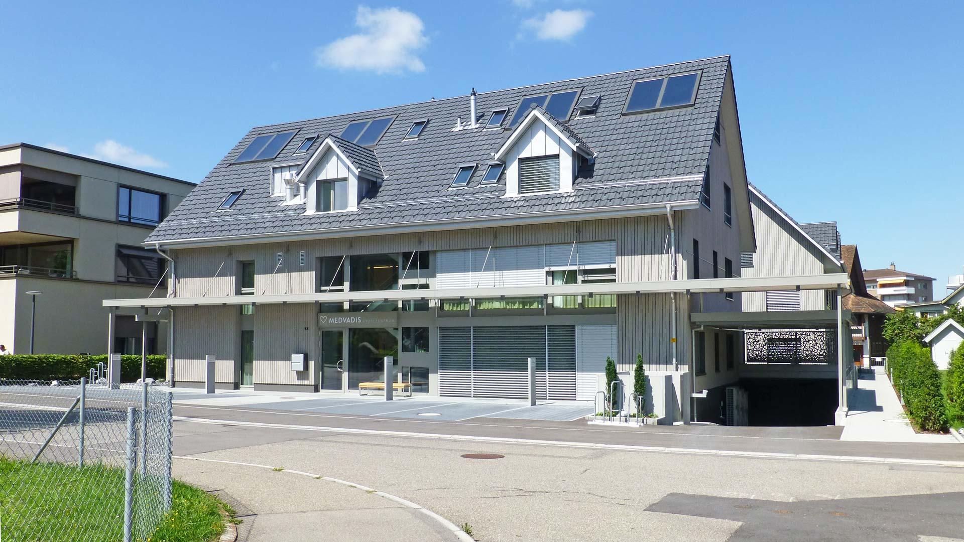 Praxisgebäude Birmensdorf, Gräzer Holzbau AG