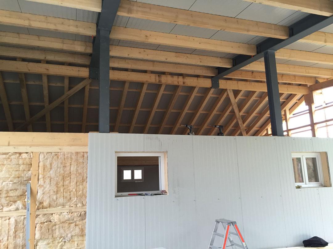 Sanierung und Anbau Stall