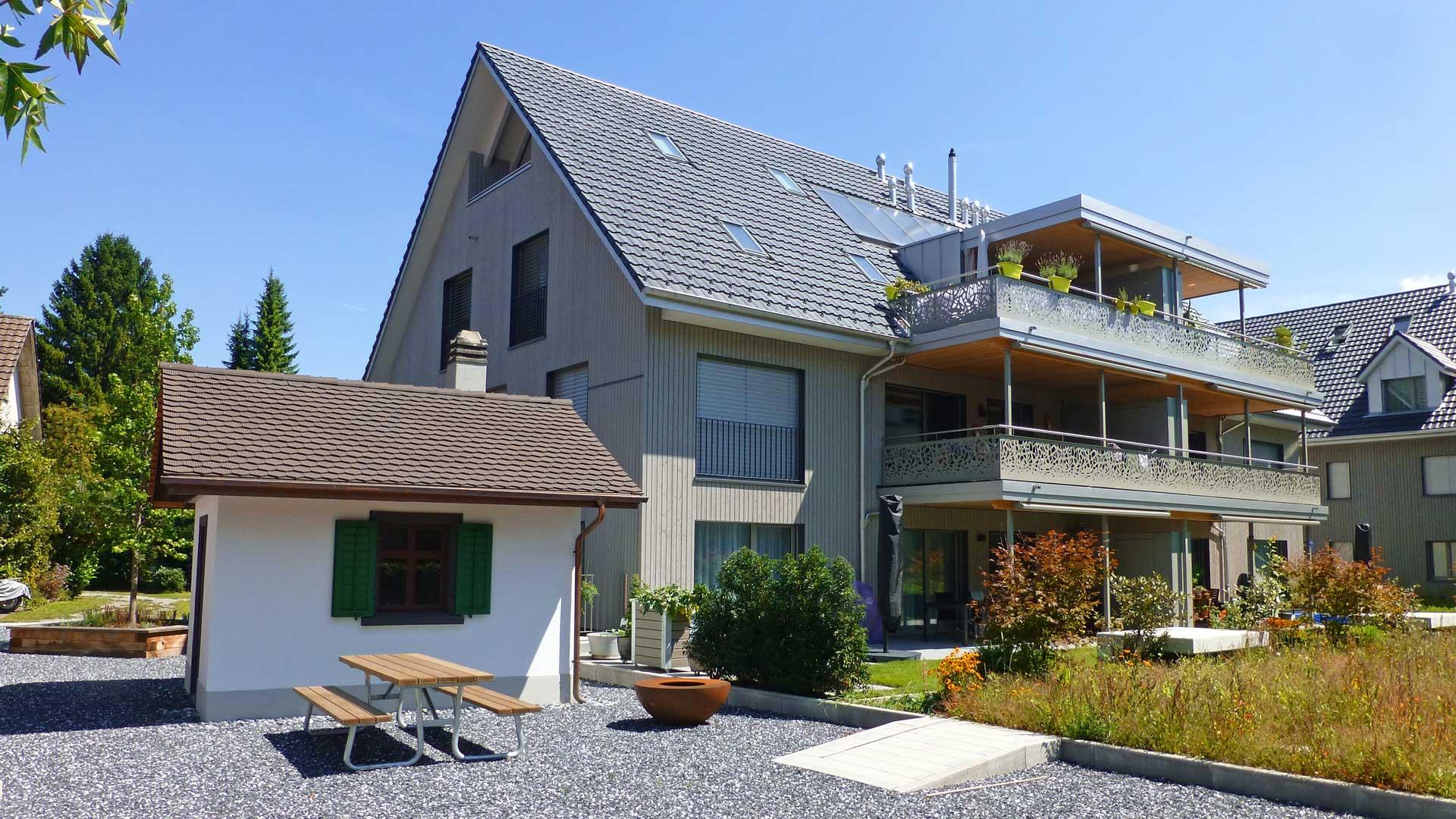 MFH Birmensdorf, Gräzer Holzbau AG